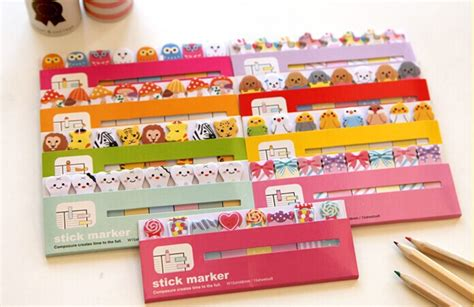 post it bureau pc 1 pc lot sticky note post it stick memo paper