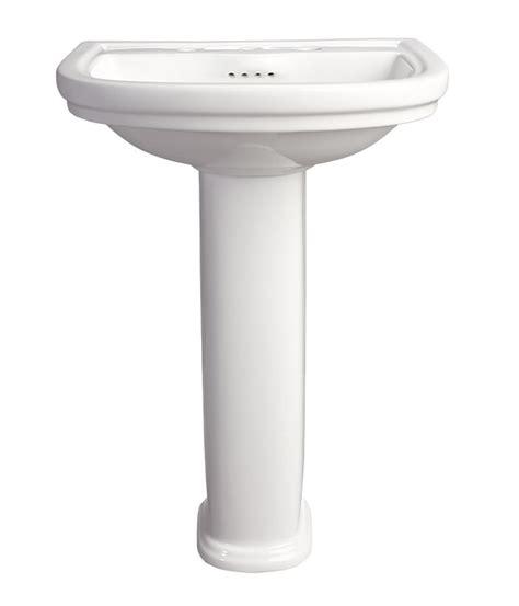 18 inch pedestal sink the fixture gallery dxv st george pedestal bathroom