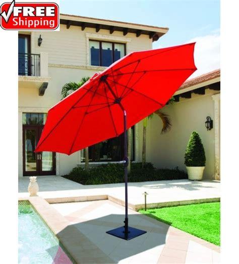best selection tilt patio umbrellas galtech 9 manual