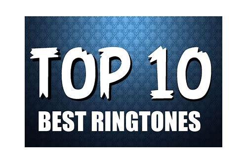 top 10 best ringtones free download