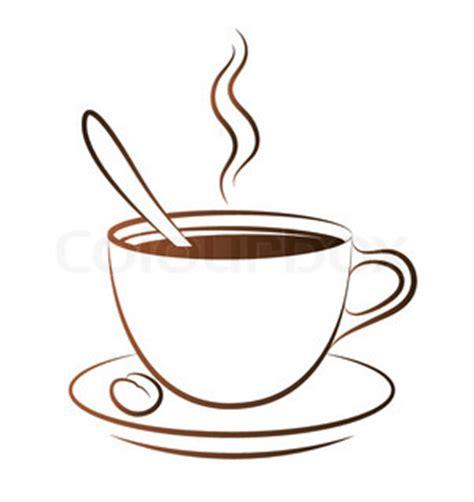 Dampfende Tasse Kaffee   Stock Vektor   Colourbox