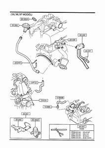 1994 Mazda B4000 Pipe  E G R   Egr
