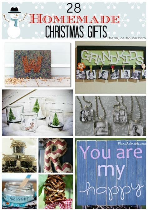 diy family christmas gifts 28 homemade christmas gifts for friends or family page 2 of 2 the taylor house