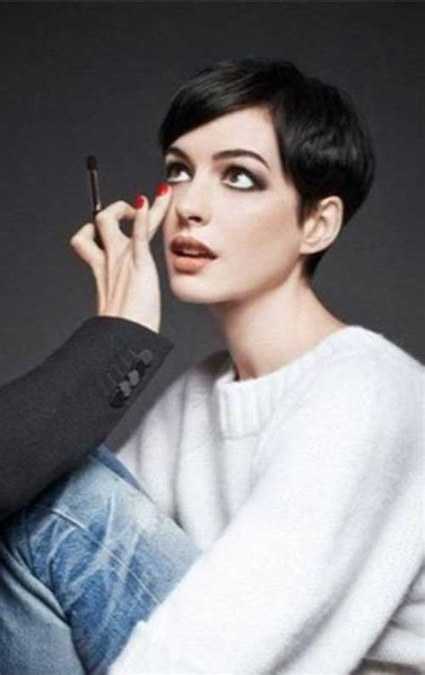celebrity pixie cuts short hairstyles