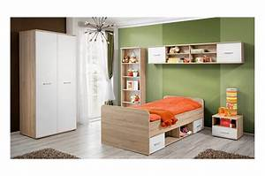 Chambre Enfant Blanc : chambre enfant ch ne blanc daro 1 cbc meubles ~ Teatrodelosmanantiales.com Idées de Décoration