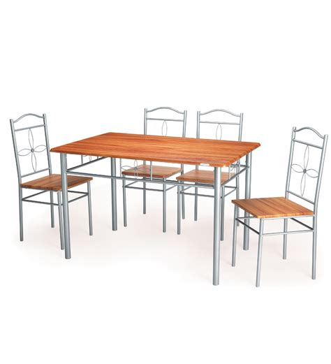 nilkamal ritz dining table set 1table 4 chair by