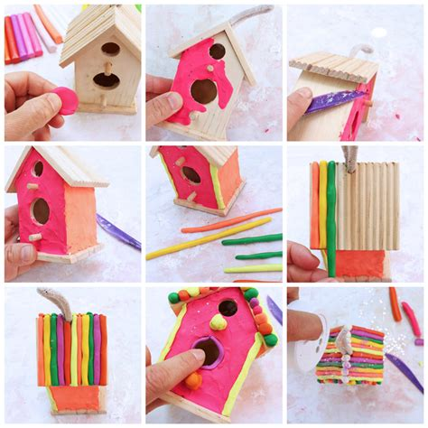 projects for clay houses babble dabble do