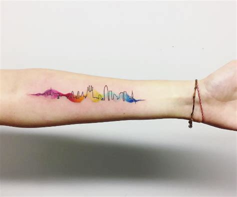 cityscape tattoos   worlds  beautiful
