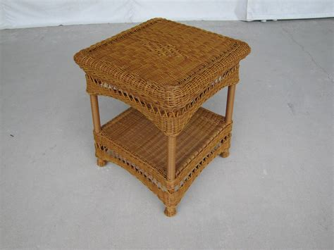 small wicker side table small rattan side table rattan creativity quality