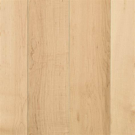 maple flooring mohawk portland pure maple natural 3 4 in thick x 5 in wide x random length solid hardwood