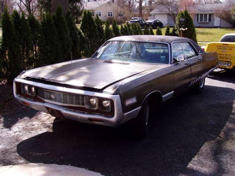 1971 Chrysler New Yorker by 1971 Chrysler New Yorker 440 727 4 Barrel Motor For Sale
