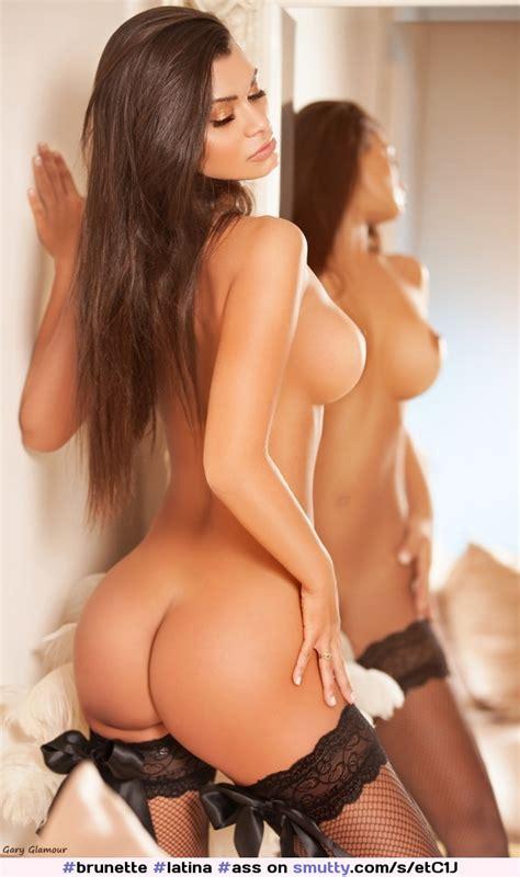 Brunette Latina Ass Curvy Bigboobs Busty Mirror