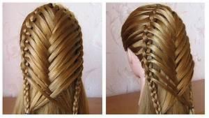 Coiffure Tresse Facile Cheveux Mi Long : coiffure pour tous les jours cheveux mi long long ~ Melissatoandfro.com Idées de Décoration