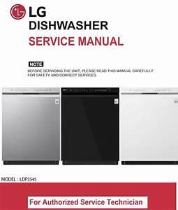Lg Ldf5545st Ldf5545bb Ldf5545ww Dishwasher Service Ma