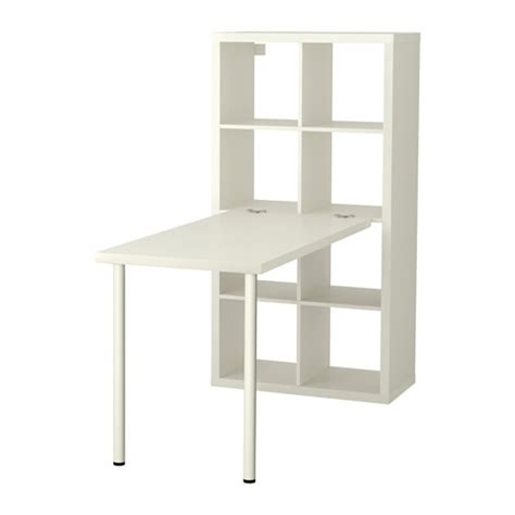 kallax bureau kallax desk combination white ikea