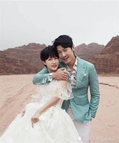 陆毅、鲍蕾携手再拍婚纱照,小两口亲密相拥爱意浓浓