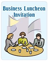 business luncheon printable invitations