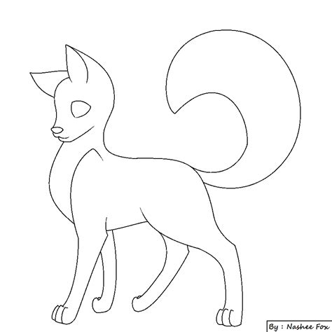 wolf base  nashee fox  nasheefox  deviantart