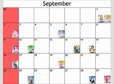 Cinderella Girls Birthday Reminder Calendar The Path of