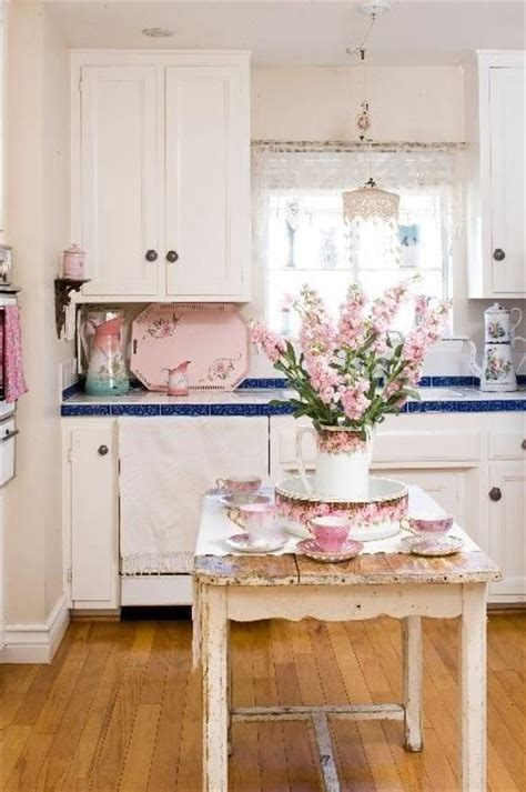 kitchen shabby chic accessories 35 awesome shabby chic kitchen designs accessories and 5595