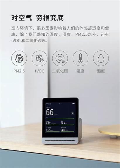 Xiaomi Detector Qingping Air Stacja Pogodowa Czujnikiem