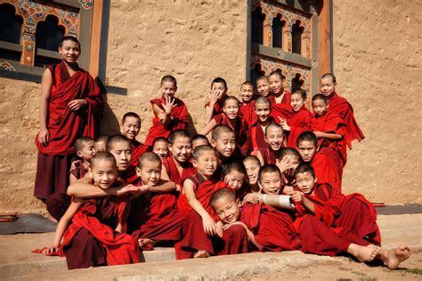 Bhutanese Monks - David Lazar
