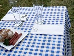 Tischdecke 3 Meter Lang : tischdecke biertische abwaschbar 80cm x 50 m rolle blau wei kariert tischdecken ~ Frokenaadalensverden.com Haus und Dekorationen