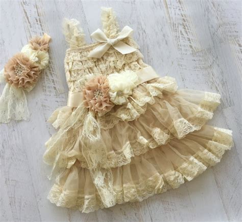 shabby chic baby dress shabby wedding lace vintage shabby chic 2241617 weddbook