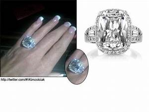 Kim Zolciak's engagement ring. 10 carats! (good job, Kroy ...
