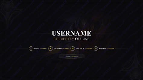 twitch banner template psd 2017 187 twitch overlay template 006 twitch overlay maker