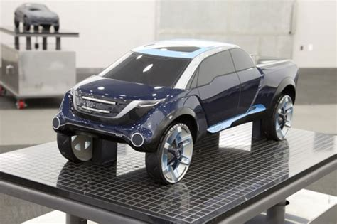 full size pickup truck  eric um car body design