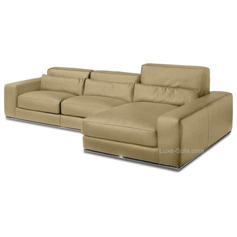 canape luxe solde canapé d 39 angle de luxe en cuir de vachette matisse verysofa