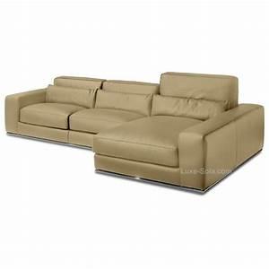 canape d39angle de luxe en cuir de vachette matisse verysofa With canape cuir de luxe