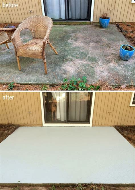deck resurfacer vs stain 121 best images about concrete resurfacing on