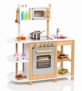 Kinderküche Aus Holz : sun kinderk che aus holz wei silber bei ~ Orissabook.com Haus und Dekorationen