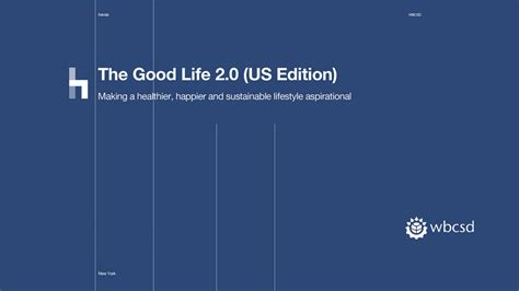 The Good Life 20 Playbook (us Edition
