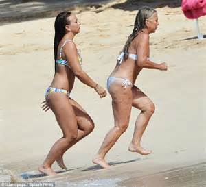 Chloe Green and mother Lady Tina look alike in Barbados | Daily Mail Online