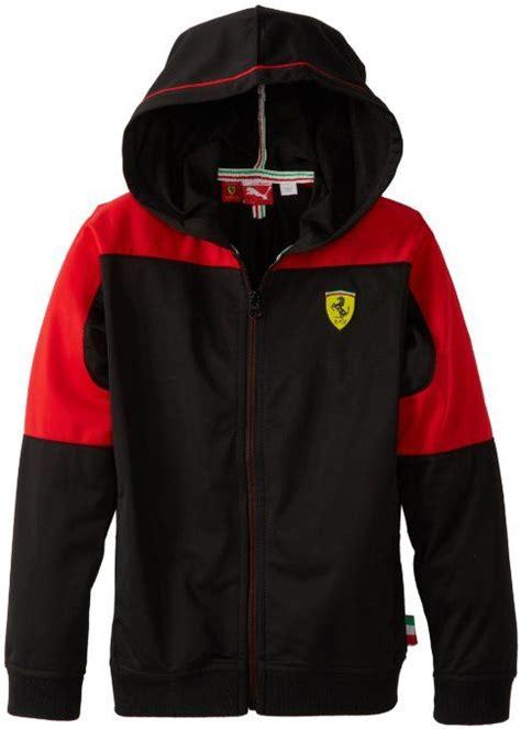 ferrari clothing amazon com puma kids boys 2 7 ferrari hooded jacket