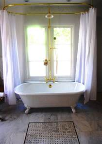 clawfoot tub bathroom design ideas shower curtain rod for clawfoot bathtub decor ideasdecor ideas