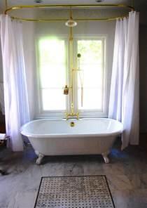 clawfoot tub bathroom ideas shower curtain rod for clawfoot bathtub decor ideasdecor ideas