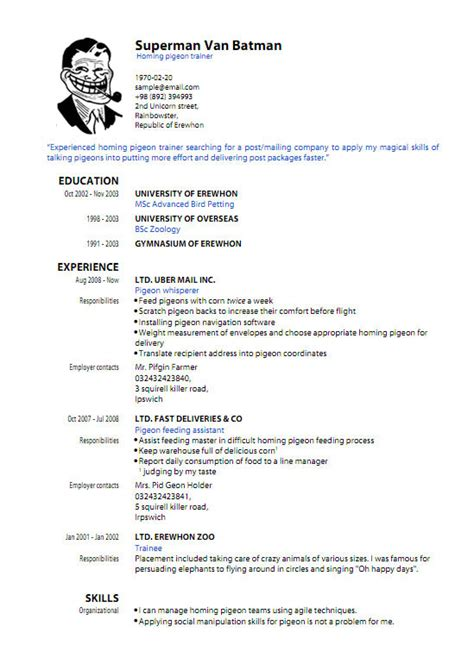 resume template pdf free pdf resume template learnhowtoloseweight net