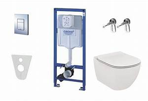 Toilettes Suspendues Grohe : pack wc rapid sl grohe toilet bowl ideal standard tesi ~ Edinachiropracticcenter.com Idées de Décoration