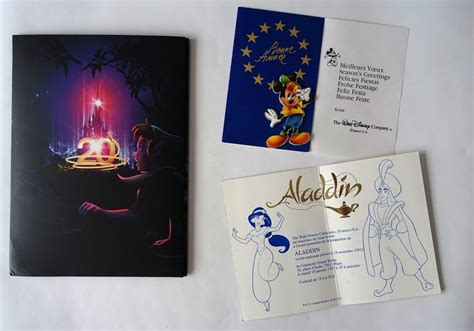 Carte De Voeux Disneyland by Dossier De Presse Des 20 Ans De Disneyland Carte De