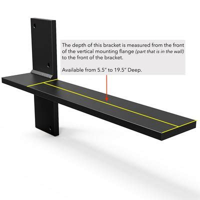 Floating Countertop Supports by Floating Countertop Wall Bracket Create A Floating Desk