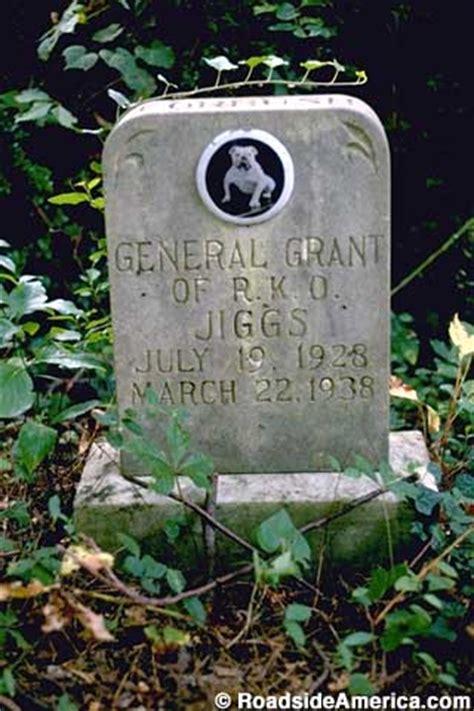 grave   petey  rascals dog silver