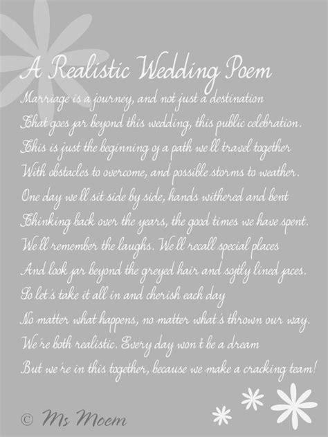 realistic wedding poem ms moem atmsmoem aka amy atiwantapoem