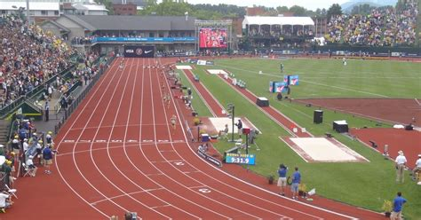 Am I a mess?: Olympic Track Trials