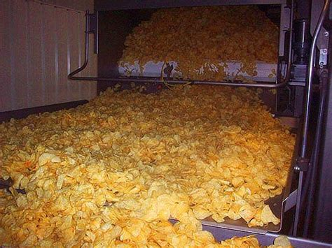 kitchen cooked chips marty wombacher and the potato chip factory a tour of