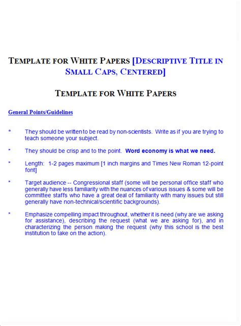 white paper template word 13 white paper templates pdf word sle templates