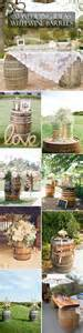 wedding ideas country wedding ideas 20 ways to use wine barrels